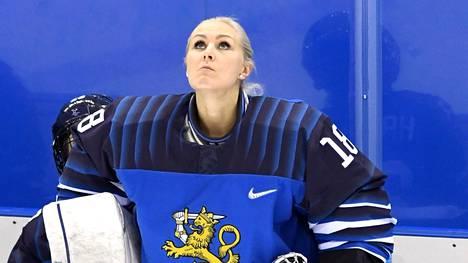 Meeri Räisänen kuului pronssia voittaneeseen joukkueeseen Pyeongchangin olympialaisissa.