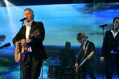 Jukka Kuoppamäki esiintyi euroviisujen 2.karsinnassa Tampereella 27. tammikuuta 2007.