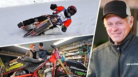 Aki Ala-Riihimäki halvaantui tapaturman seurauksena vuonna 2007. Nyt hän pystyy jälleen ajamaan jääspeedwaytä.