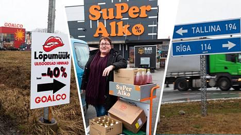Turkulainen Päivi Alkio valmistautui ostoksillaan tuleviin 50-vuotisjuhliin.