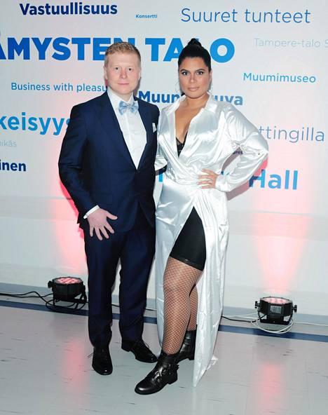 Sampo ja Minttu Kaulanen ovat televisiosta tuttu pari, joka on ollut mukana monessa.