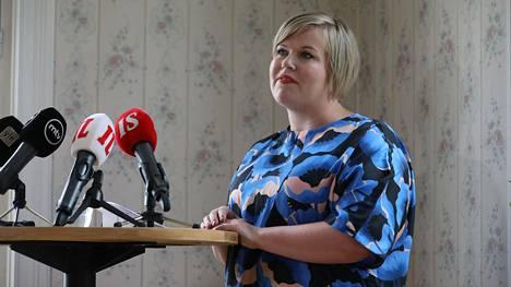 Annika Saarikko ilmoitti tänään lähtevänsä keskustan puheenjohtajakisaan.