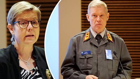 Vihreiden Krista Mikkonen kertoi puolueen haluavan myös naiset kutsuntoihin. Prikaatikenraali Jukka Sonninen kommentoi ajatusta Ilta-Sanomille.