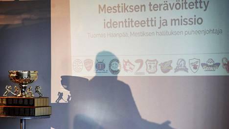 Mestiksen avausinfo järjestettiin maanantaina Espoon Metro Areenassa.