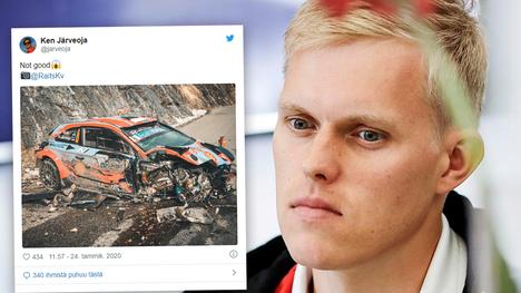 Ott Tänak ajoi rajusti ulos Monte Carlon MM-rallissa tammikuussa.