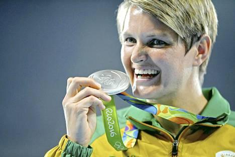 Viljoen sai olympiahopeaa Riossa.