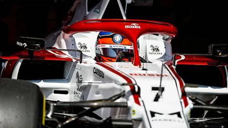 Kimi Räikkönen menetti hyvän pistesauman tallin mokaan.