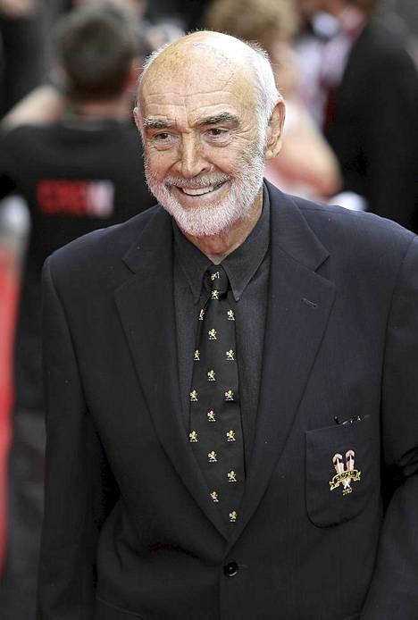 Tältä Connery näytti vielä avatessaan Edinburghin elokuvafestivaalit vuonna 2010.