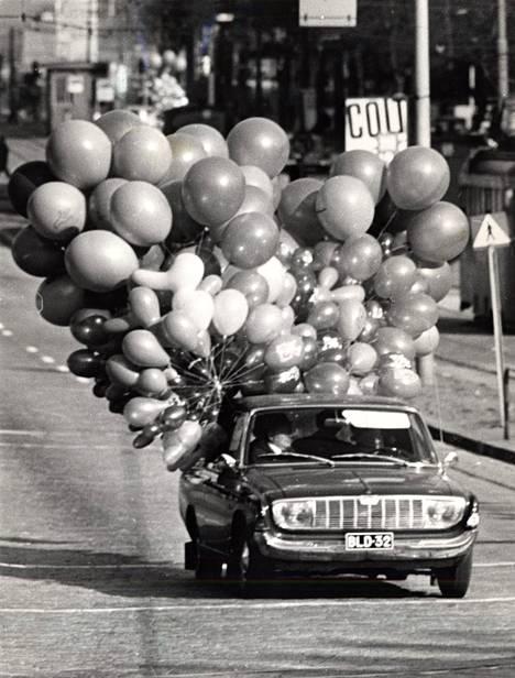 Vappupalloja vuonna 1968.