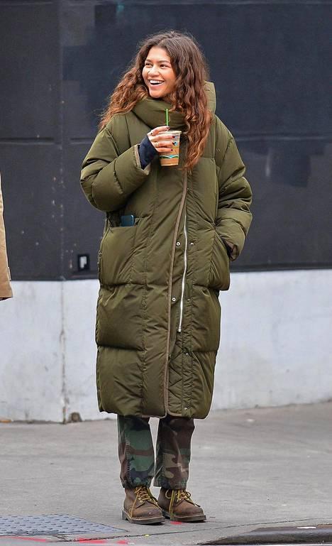 Näyttelijä Zendaya Coleman käyttää julkisuudessa ytimekkäästi vain etunimeään.