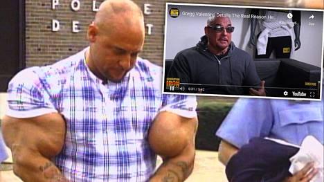 Gregg Valentino on entinen kehonrakentaja.