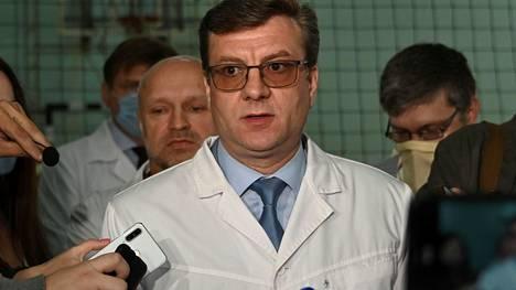 Johtava lääkäri Aleksandr Murahovski.