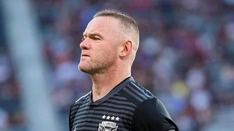Wayne Rooney liittyy tammikuussa Derby Countyn riveihin.
