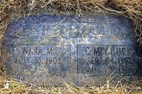 Hellmanin Hautakivi löytyi läheltä Columbia-jokea.