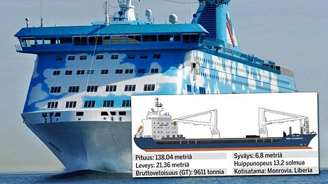 Tallink Siljan matkustajalautta M/S Galaxy joutui tekemään voimakkaan väistöliikkeen lauantaina.