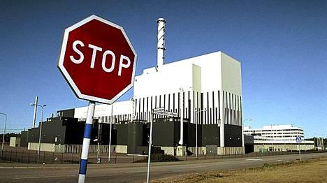 Oskarshamnin ydinvoimala vuonna 2006