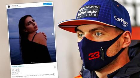 Seurustelevatko Kelly Piquet ja Max Verstappen?