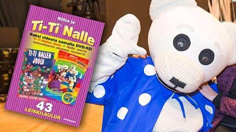 Kuvan Ti-Ti Nalle -dvd sisältää aikuisille tarkoitettua materiaalia, minkä vuoksi niitä pyydetään palauttamaan takaisin ostopaikkaan.