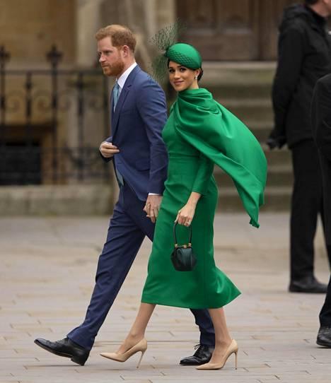 Harry ja Meghan eivät olleet maaliskuussa enää hyvissä väleissä Williamin ja Katen kanssa.