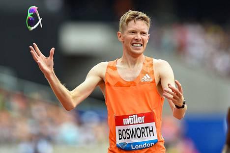 Tom Bosworth on yksi MM-Dohassa kilpailevista avoimesti homoseksuaaleista urheilijoista.