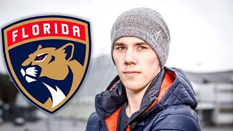 Florida Panthers nosti Henrik Haapalan AHL:stä.