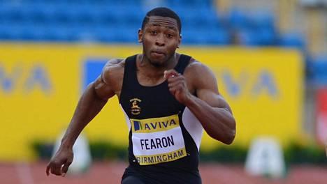 Joel Fearon on yksi historian nopeimmista brittien pikajuoksijoista. Hänen fokuksensa on kuitenkin muualla kuin yleisurheiluradoilla.