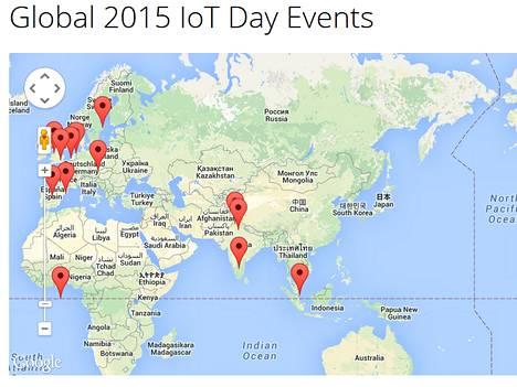 Globaalia IoT-päivää vietettiin 9. huhtikuuta.