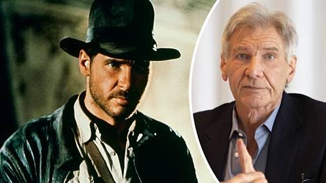 Harrison Ford sonnustautui ensimmäisen kerran seikkailija Indiana Jonesiksi vuoden 1981 elokuvassa Kadonneen aarteen metsästäjät. Viides elokuva on tulossa 2022.