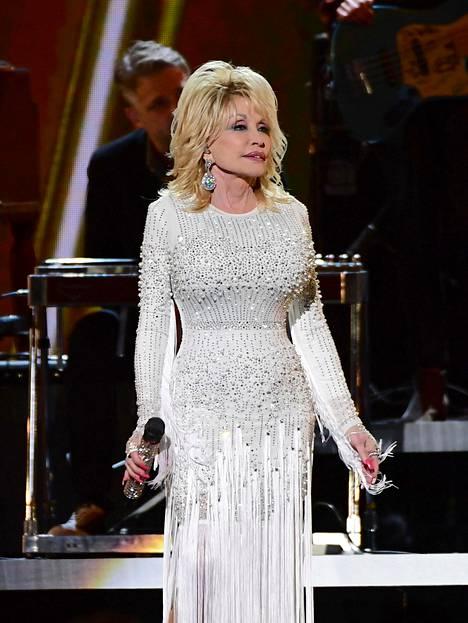 Dolly Parton konsertoi marraskuussa Nashvillessa.