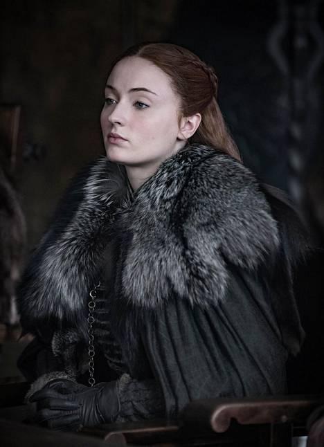 Sophie Turner näyttelee Game of Thronesissa Sansa Starkia.