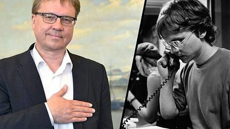 Pekka Sauri juonsi legendaariseksi muodostunutta Yölinja -ohjelmaa vuosina 1987–2002.