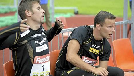 Antti Ruuskanen ja Tero Pitkämäki lähtevät Lontoon olympialaisiin.