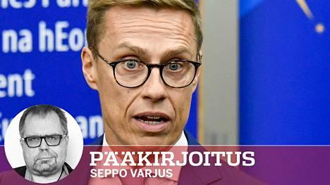 Alexander Stubb ilmoitti pyrkivänsä Euroopan komission puheenjohtajaksi muutama päivä sitten.