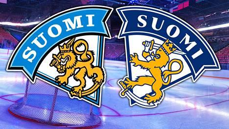 Vasemmalla vanha ja oikealla uusi logo.