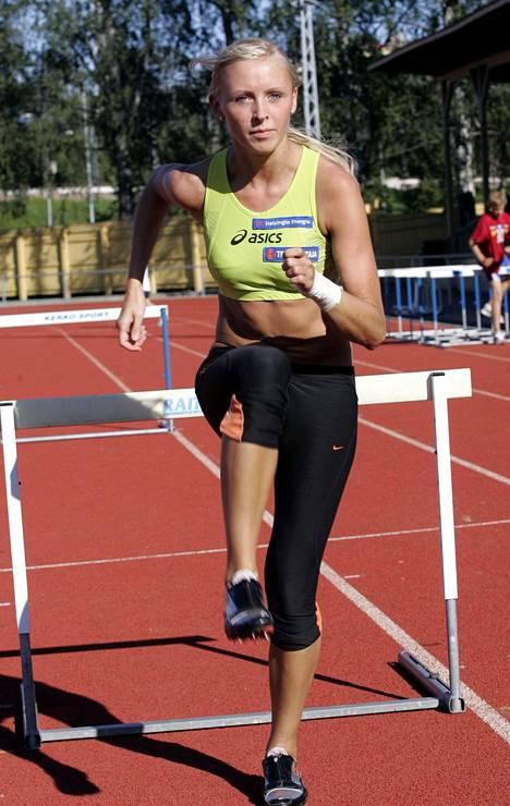 Manuela Bosco muistaa, että Annimari Korte oli lahjakas junioriaituri. Kuva Kortteesta vuodelta 2007.