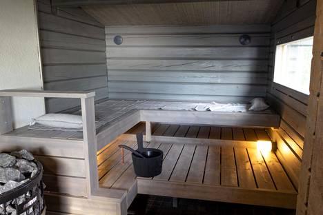 Tältä sauna näyttää nyt.