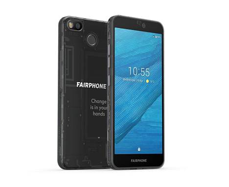 Teknisiltä ominaisuuksiltaan Fairphone 3 on varsin tavanomainen Android-puhelin.