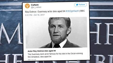 Roy Dotrice teki pitkän uran näyttelijänä.