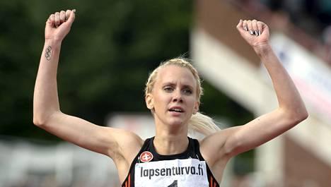 Sandra Erikssonille Pekingin MM-kisat ovat jo kahdeksannet arvokilpailut.