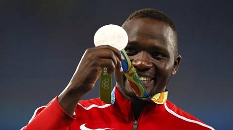 Julius Yego heitti olympiahopeaa tuloksella 88,24.