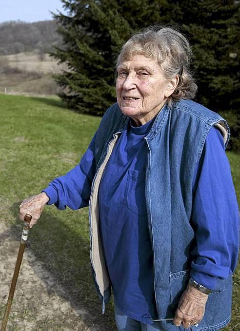 Lana Peters kotiseudullaan Richland Centerissä viime vuoden huhtikuussa.