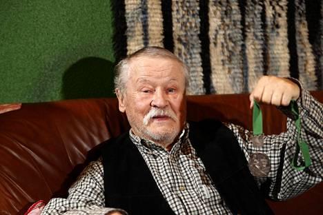 Jorma Kinnunen Ilta-Sanomien haastattelussa lokakuussa 2018.
