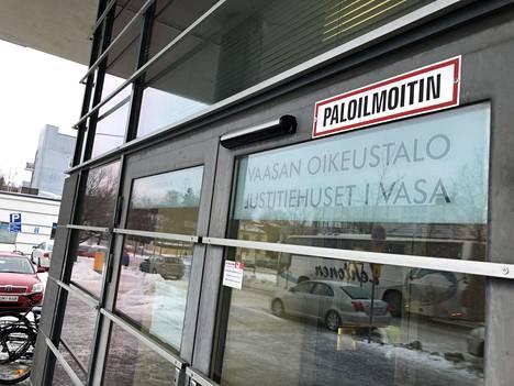 Asian käsittely jatkuu Vaasan hovioikeudessa joulukuussa. Istunto pidetään kuitenkin Pohjanmaan käräjäoikeuden tiloissa Vaasassa.