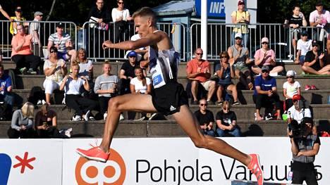Topi Raitanen oli huippuiskussa Paavo Nurmi Gamesissa Turussa.