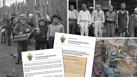Venäjän federaation tutkintakomitea ilmoitti torstaina iltapäivällä, että se on käynnistänyt esiselvityksen perusteella virallisen rikostutkinnan Itä-Karjalan miehityksen aikaisista siviilien ja sotavankien surmista jatkosodan aikana.