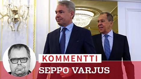 Maanantaina Pietarissa Suomen ulkoministeri Pekka Haavisto torjui tyylikkäästi Venäjän Sergei Lavrovin hyökkäykset ja mielistelyt. EU:n Venäjä-linja ratkaistaan kuitenkin Euroopan mahtimaissa.