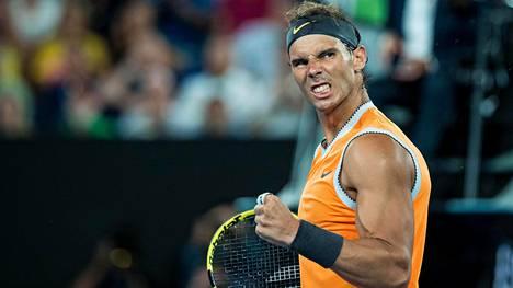 Australian avointen tuloksia: Nadal jatkaa voittokulkuaan, kohtaa seuraavaksi kreikkalaisyllättäjän
