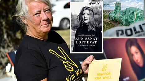 Kim Wallin äiti Ingrid Wall kertoo miehensä Joachimin kanssa tyttärensä menetyksen aiheuttamasta surusta uutuuskirjassa.