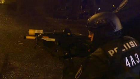 Poliisi ja mielenosoittajat ottivat yhteen Helsingissä