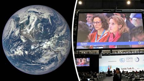 YK:n ilmastokokous Madridissa päättyi.